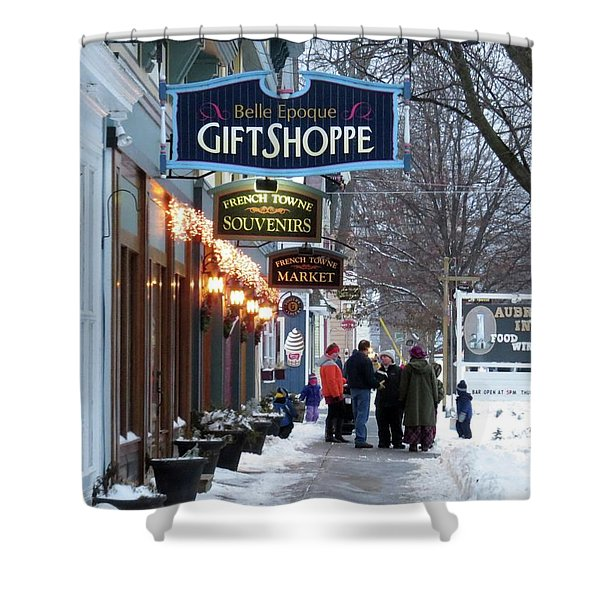 Winter In Cape Vincent Shower Curtain