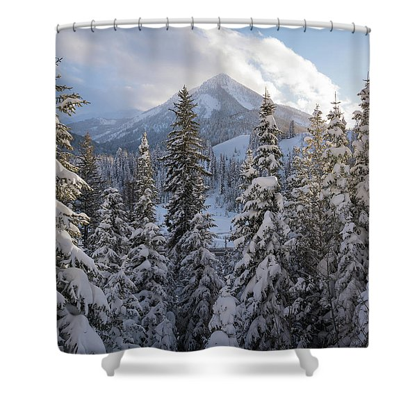 Winter In The Wasatch Shower Curtain