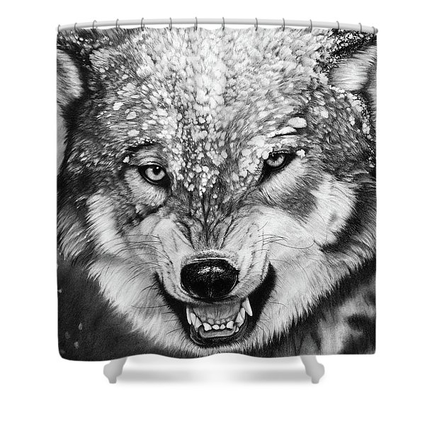 Winter Is Coming Shower Curtain