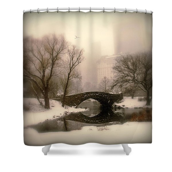 Winter Nostalgia Shower Curtain