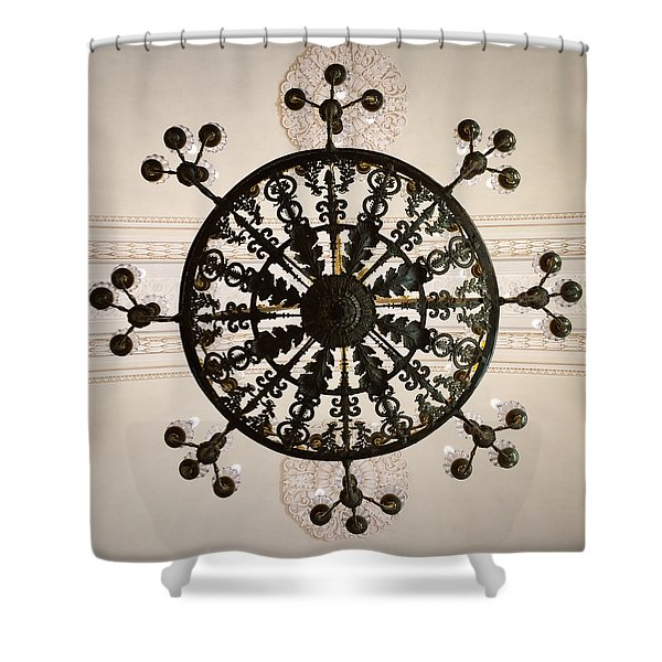 Winter Palace 3 Shower Curtain
