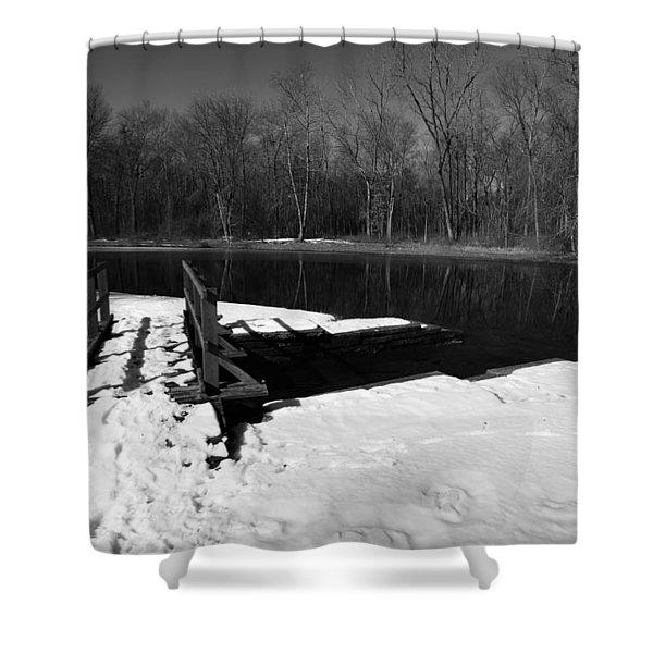 Winter Park 2 Shower Curtain