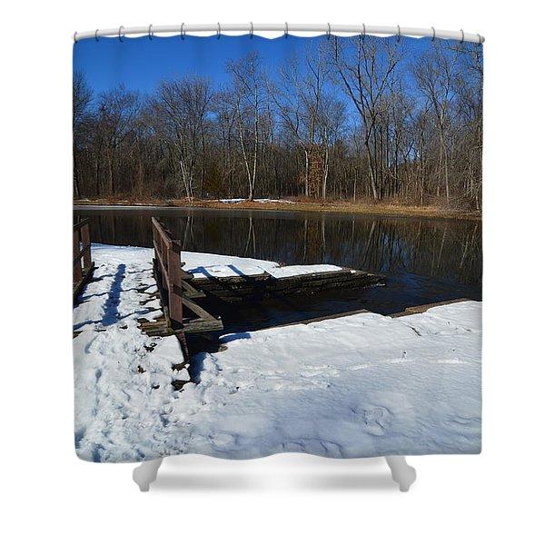 Winter Park Shower Curtain