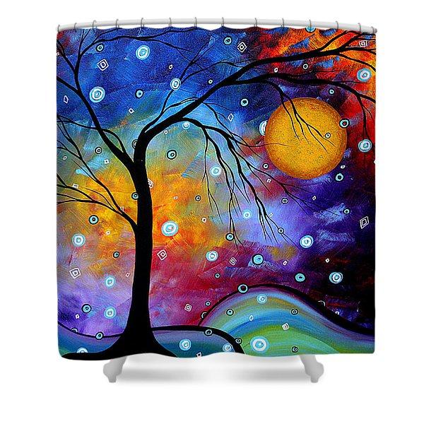 Winter Sparkle By Madart Shower Curtain