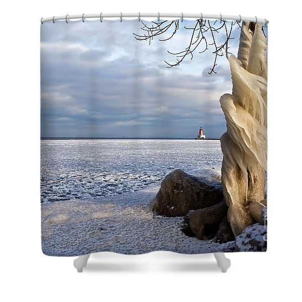 Winter Storm Ashley 2015 #3 Shower Curtain