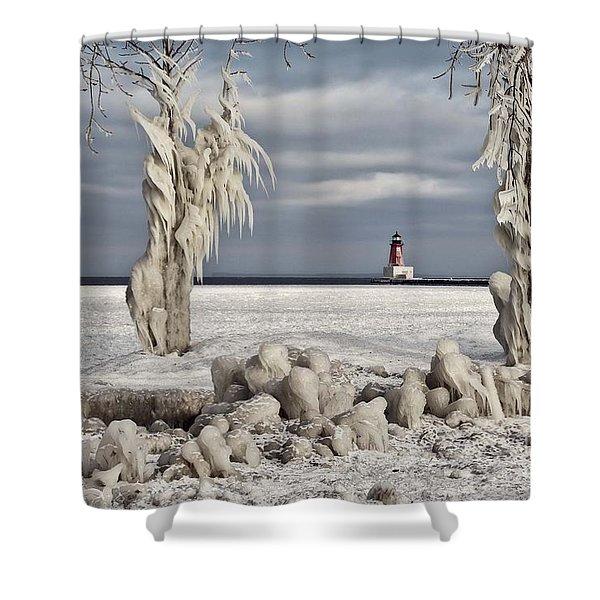 Winter Storm Ashley 2015 Shower Curtain