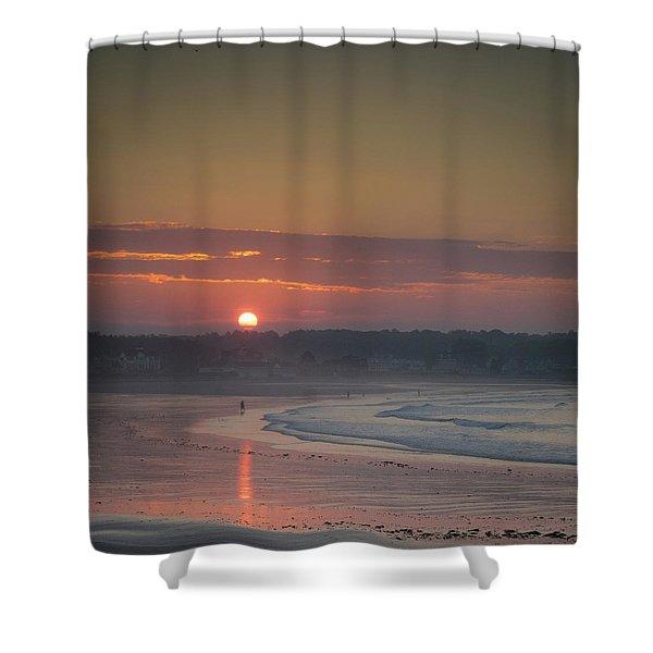 Winter Sunrise - Kennebunk Shower Curtain