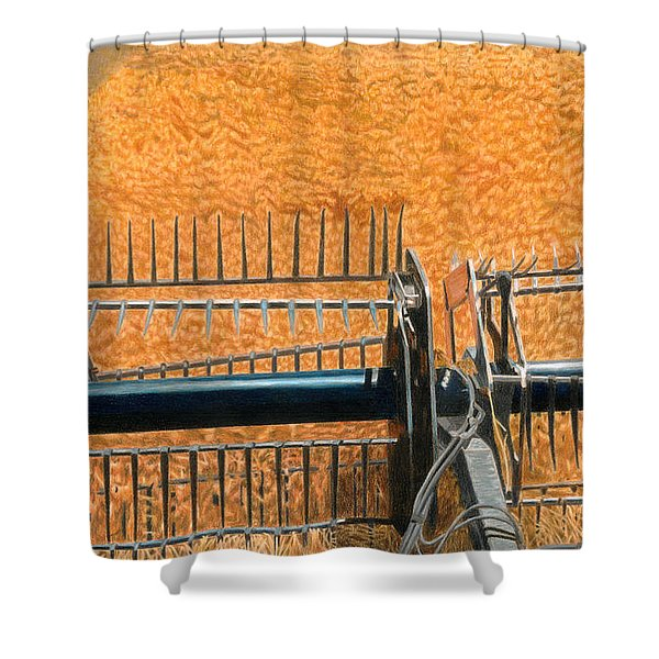 Summer Wheat Shower Curtain