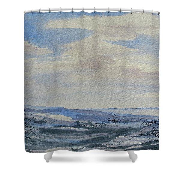 Winter Wilds Shower Curtain