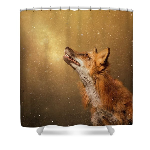 Winter Wonder Shower Curtain