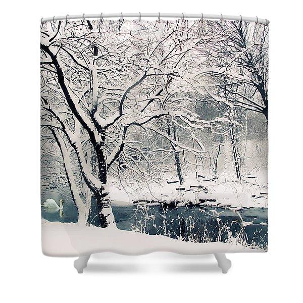 Winter's Charm Shower Curtain