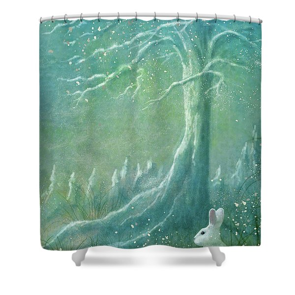 Winters Coming Shower Curtain