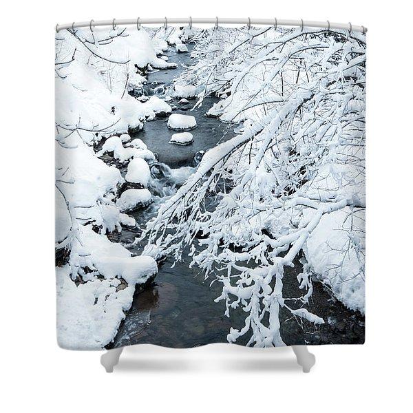 Winters Creek- Shower Curtain