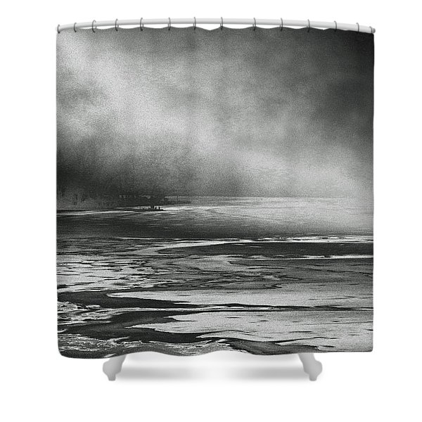 Winter's Song Shower Curtain