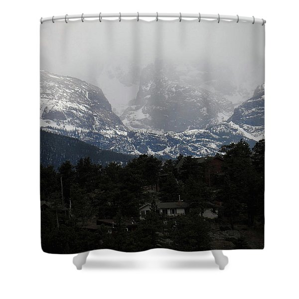 Winters Touch Shower Curtain