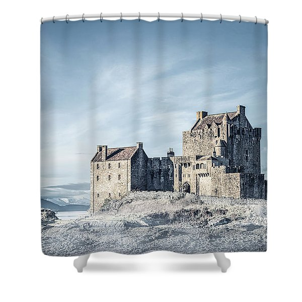 Wintertale Shower Curtain