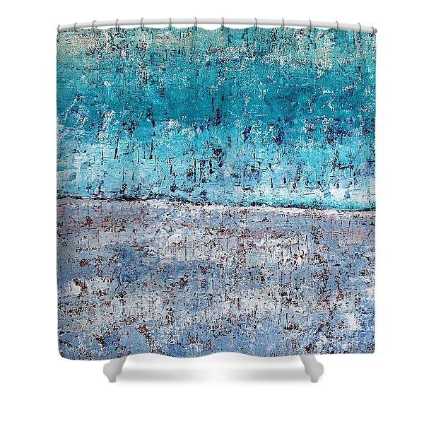 Wintry Mesa Shower Curtain