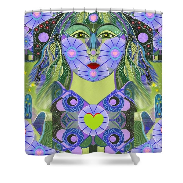 Wisdom Rising Shower Curtain