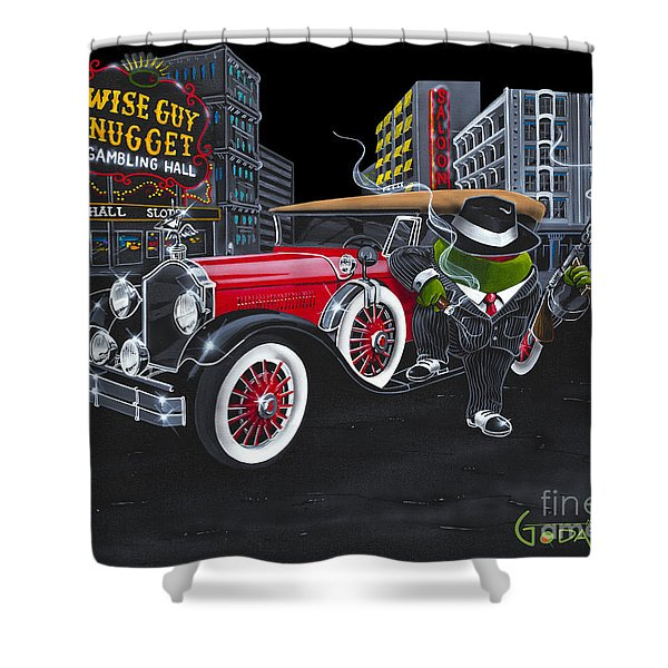 Wise Guy Shower Curtain