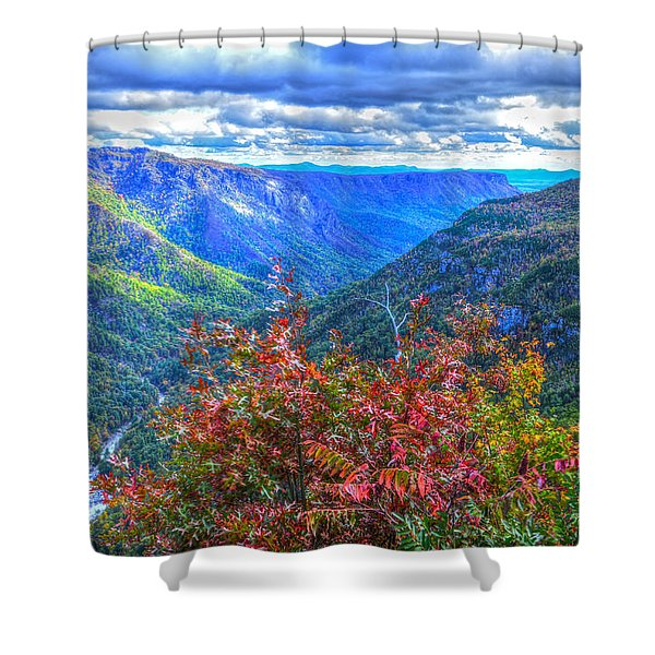 Wiseman's View Shower Curtain