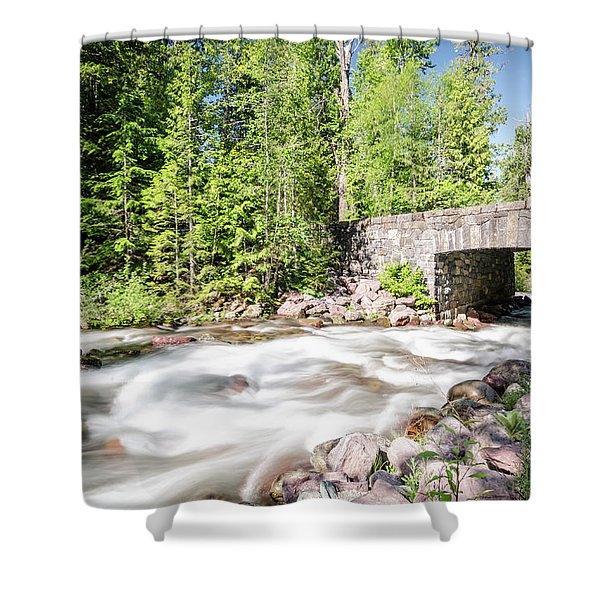 Wistful Afternoon Shower Curtain