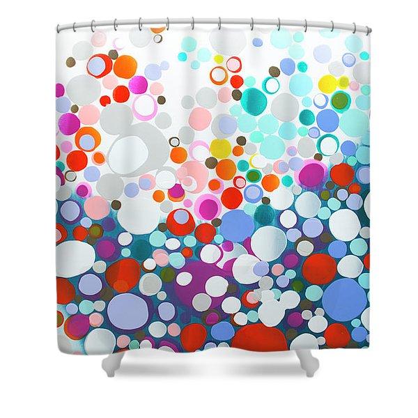 Wistful Thinking Shower Curtain