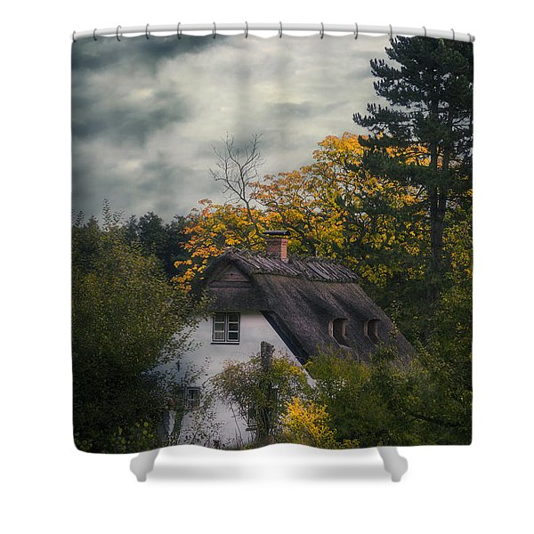 Witch Cottage Shower Curtain