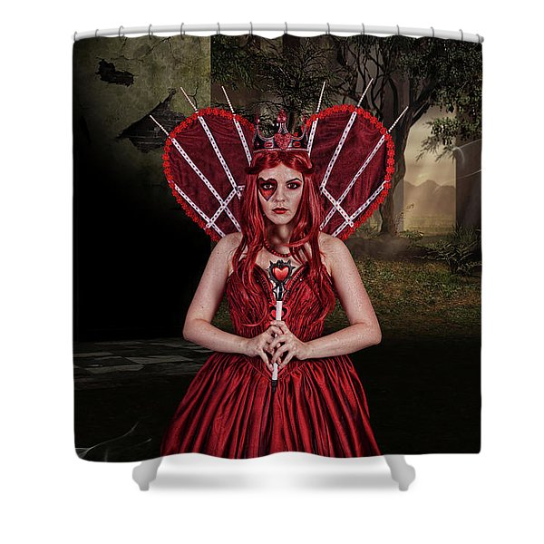 Witch Queen Of New Orleans Shower Curtain