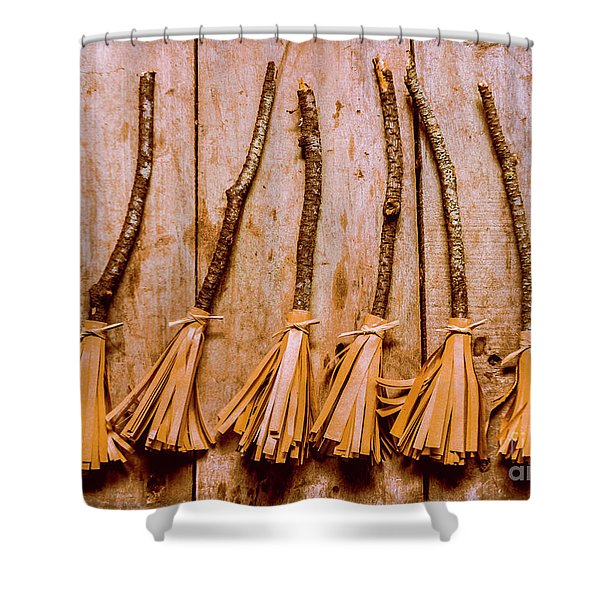 Witchcraft Gathering Shower Curtain