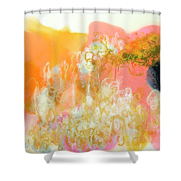 With Only Trepidation Shower Curtain