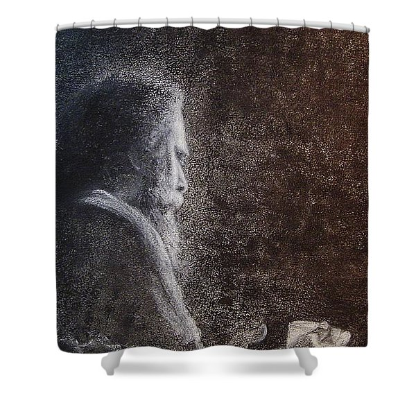Within The Flicker Of Dreams Shower Curtain