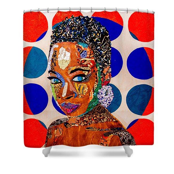 Without Question - Danai Gurira I Shower Curtain