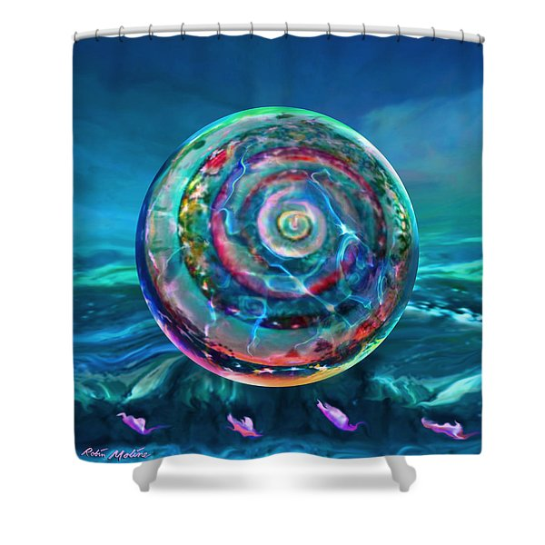 Withstanding Orby Weather Shower Curtain