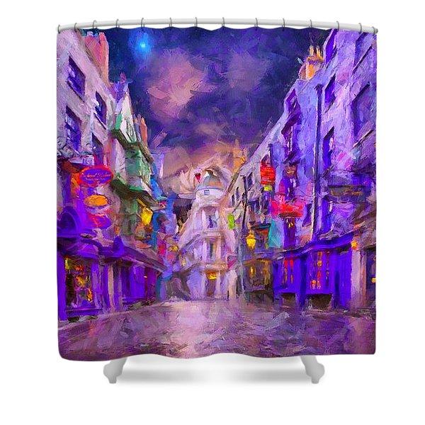 Wizard Mall Shower Curtain