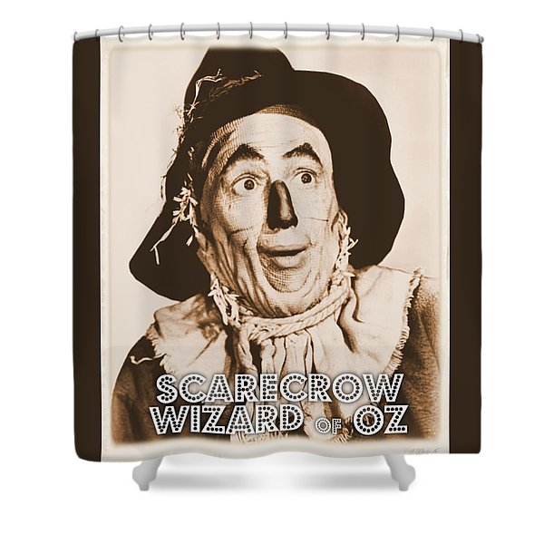 Wizard Of Oz Scarecrow Shower Curtain