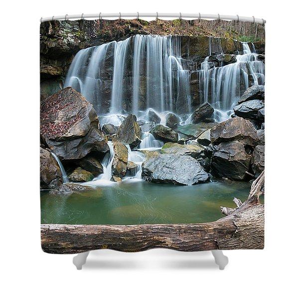 Wolf Creek Falls Shower Curtain