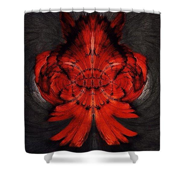 Wolfsbane Shower Curtain