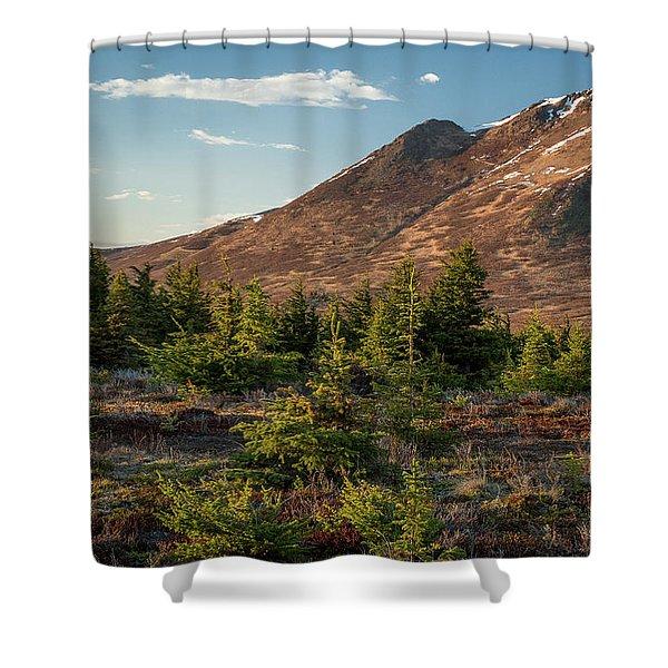 Wolverine Mt Near Sunset Shower Curtain
