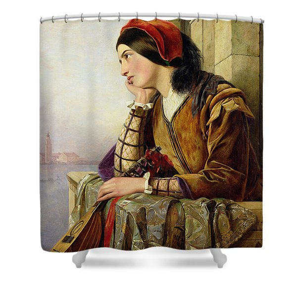 Woman In Love Shower Curtain
