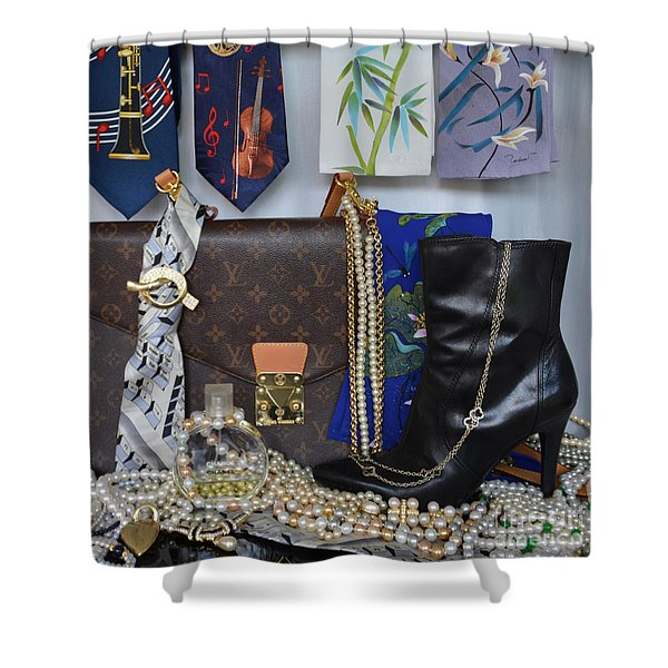Women On The Rise 4 Shower Curtain