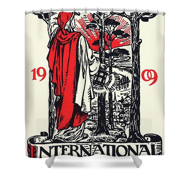 Women Suffrage International Congress London, 1909 Shower Curtain