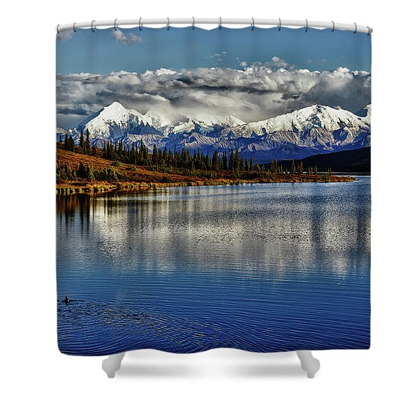 Wonder Lake IIi Shower Curtain