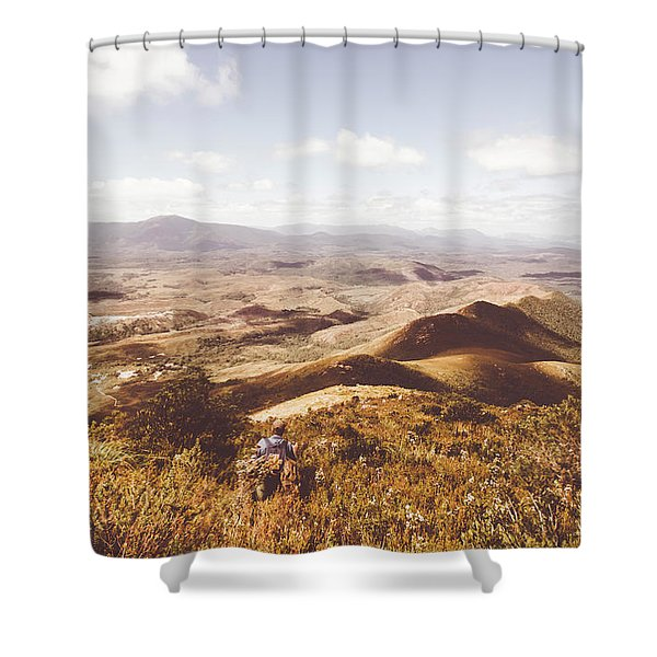 Wonderful West Coast Tasmania Views Shower Curtain
