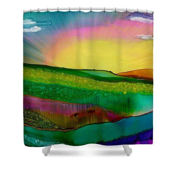 Wonderland Of Salad Days Shower Curtain