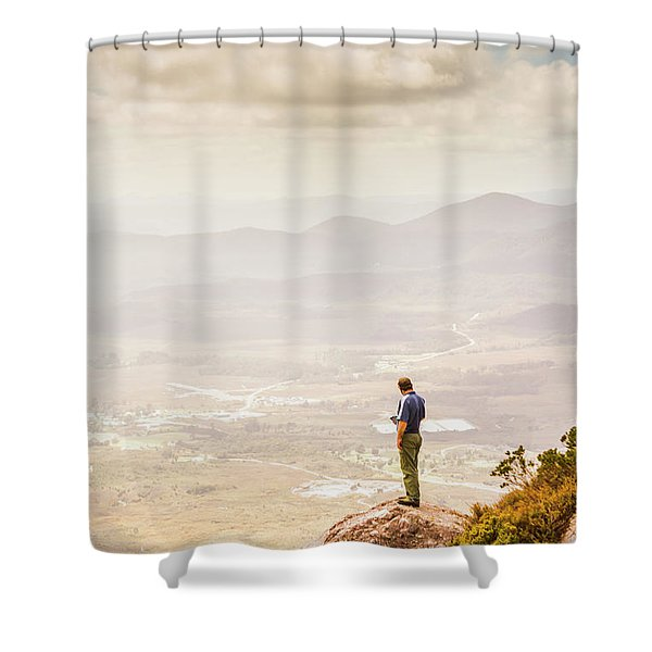 Wondrous Western Tasmania Shower Curtain