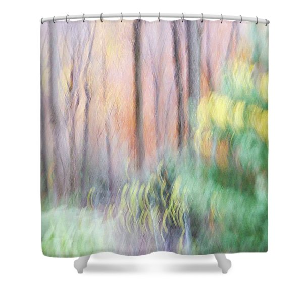 Woodland Hues 2 Shower Curtain