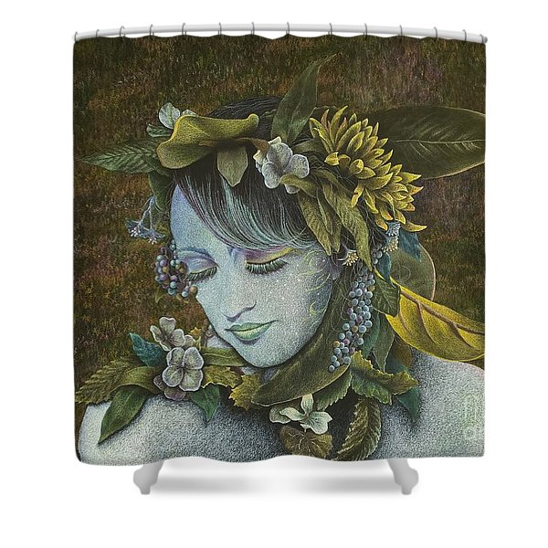 Woodland Nymph Shower Curtain