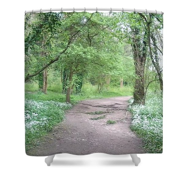 Woodland Path 1 Shower Curtain