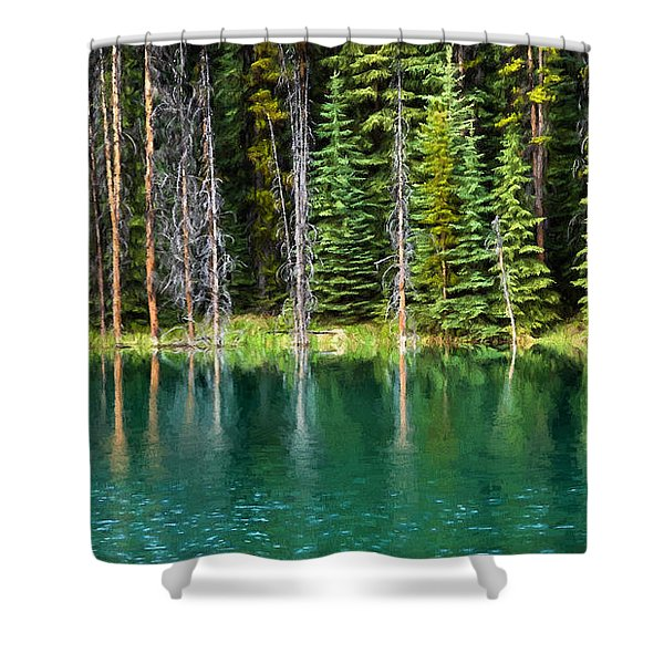 Woodland Reflections Shower Curtain
