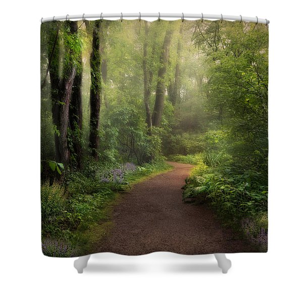 A New Spring Shower Curtain